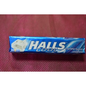 Caramelos Halls cool mentho-lyptus