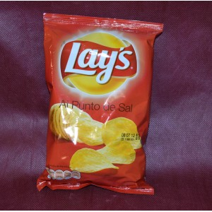Patatas fritas lays