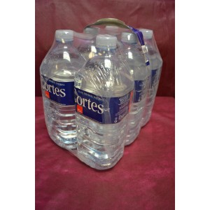 Agua sin gas 1,5 litros (pack de 6 botellas)