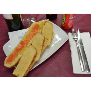 Bocadillo de tortilla española