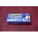 Chicles trident fresh menta sin azucar